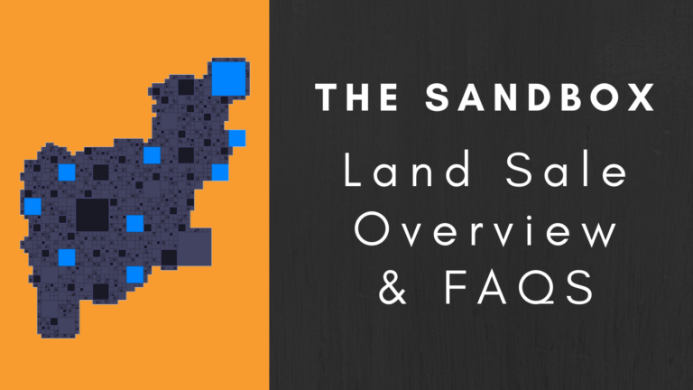 The Sandbox - Land Sale Overview